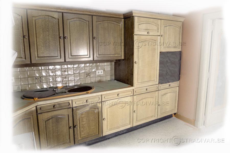 Eiken Keukenkast Verven : Hoe eiken keuken schilderen keuken schilderen hoe zandstralen